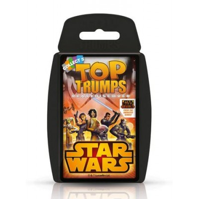 TOP TRUMPS - STAR WARS REBELS CARD GAME
