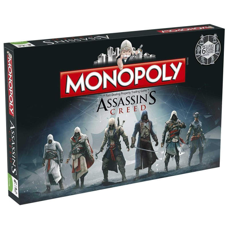 MONOPOLY - ASSASSIN'S CREED MONOPOLY BOARD GAME - One32 ...