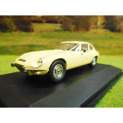 OXFORD 1:43 JAGUAR E TYPE V12 PRIMROSE YELLOW