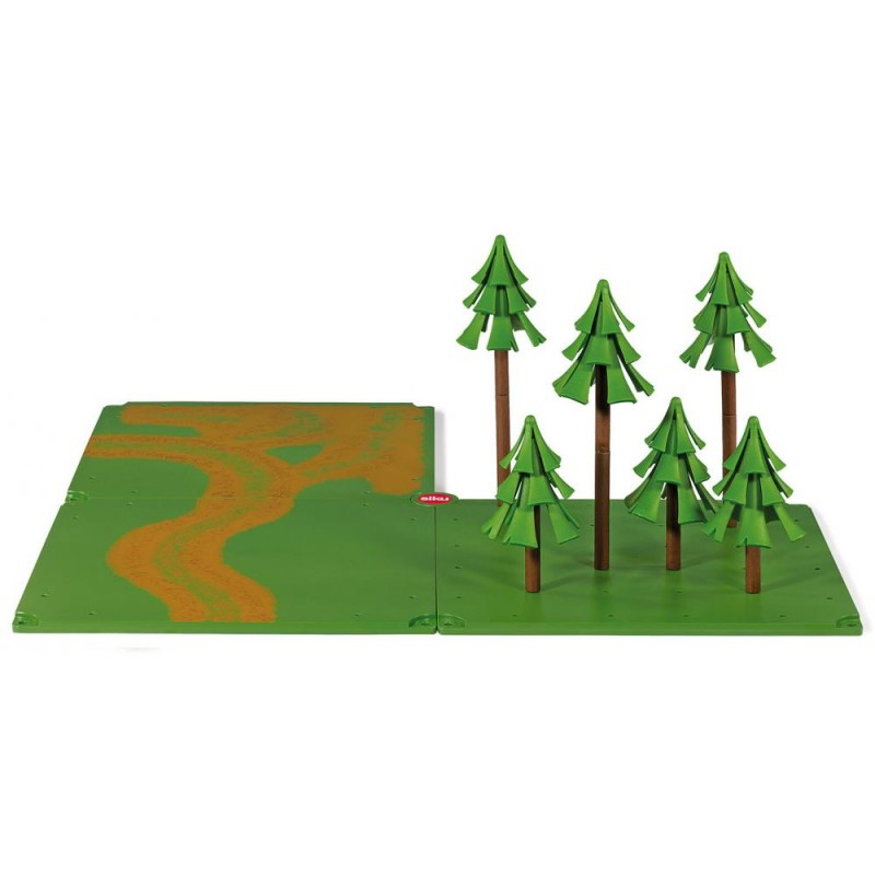 SIKU WORLD ACCESSORIES: DIRT TRACKS AND FOREST