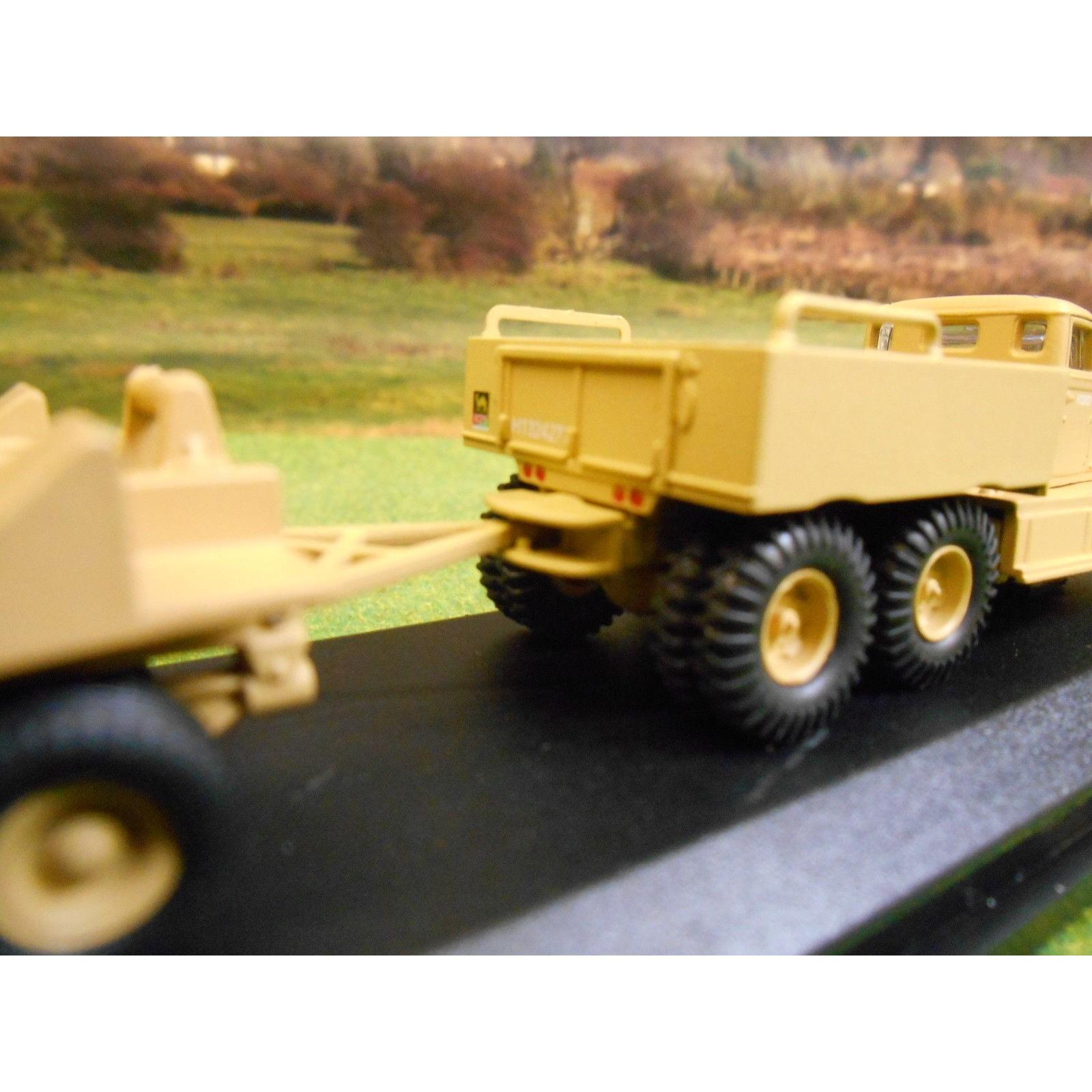 OXFORD 1:76 ARMY DIAMOND T & TANK TRANSPORTER WESTERN DESERT GHQ CAIRO