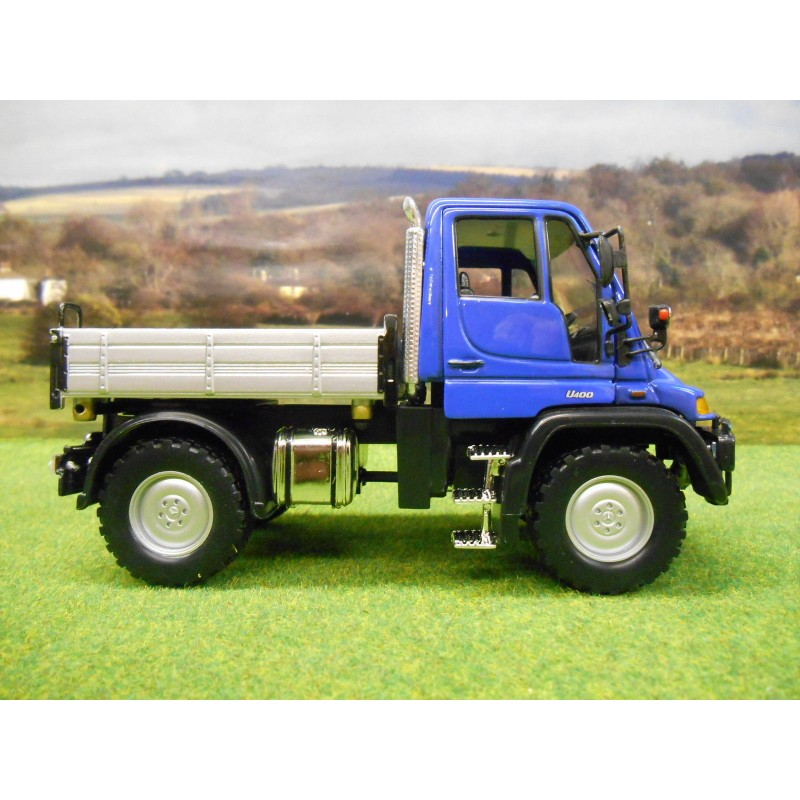 Unimog U400 For Sale >> UK EXCLUSIVE WELLY 1/32 MERCEDES BENZ UNIMOG U400 - One32 Farm toys and models