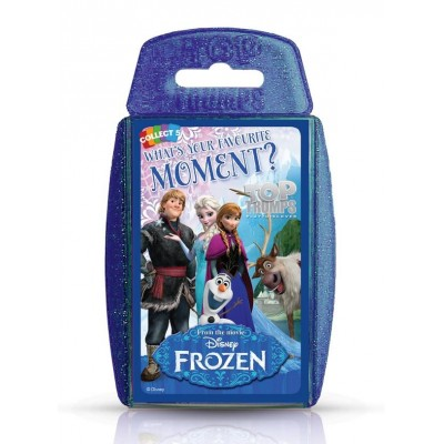 TOP TRUMPS - DISNEY FROZEN MOMENTS CARD GAME