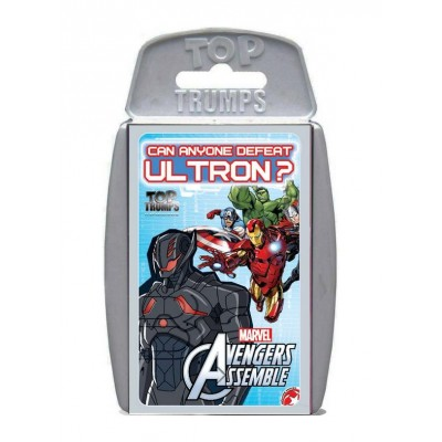 TOP TRUMPS - MARVEL'S AVENGERS ASSEMBLE CARD GAME