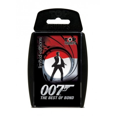 TOP TRUMPS - BEST OF BOND CARD GAME
