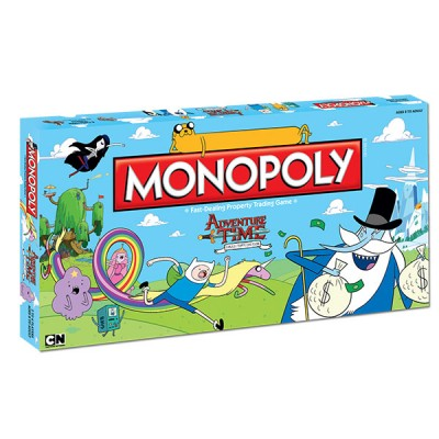MONOPOLY - ADVENTURE TIME MONOPOLY BOARD GAME