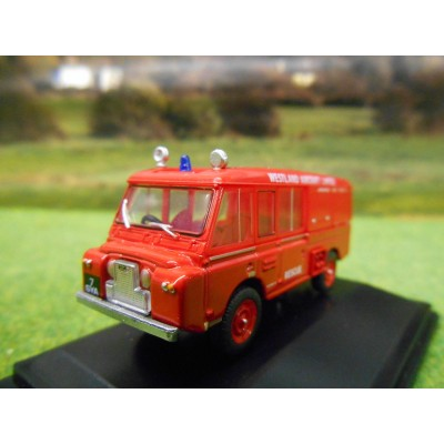 OXFORD 1:76 LANDROVER FT6 CARMICHAEL APPLIANCE WESTLAND AIRCRAFT LTD
