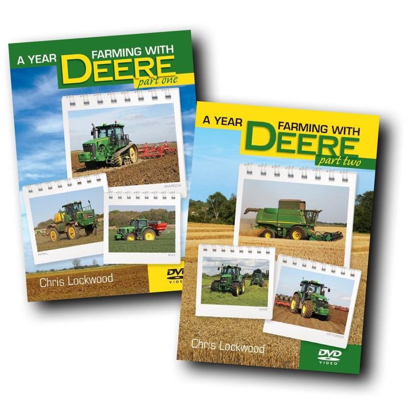 A YEAR FARMING WITH DEERE JOHN DEERE DVD CHRIS LOCKWOOD PART 1 & 2 OFFER
