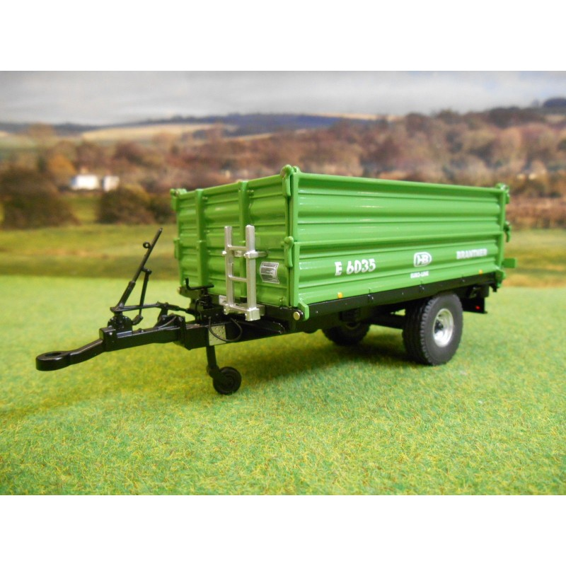 WIKING 1:32 BRANTNER E6035 3 WAY SMALL TIPPER TRAILER