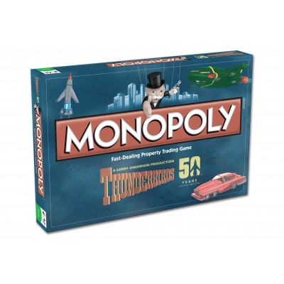 MONOPOLY - THUNDERBIRDS MONOPOLY BOARD GAME (50th ANNIVERSARY EDITION)