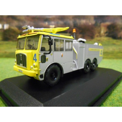 OXFORD 1:76 THORNYCROFT NUBIAN MAJOR BIRMINGHAM AIRPORT AFS FIRE TENDER