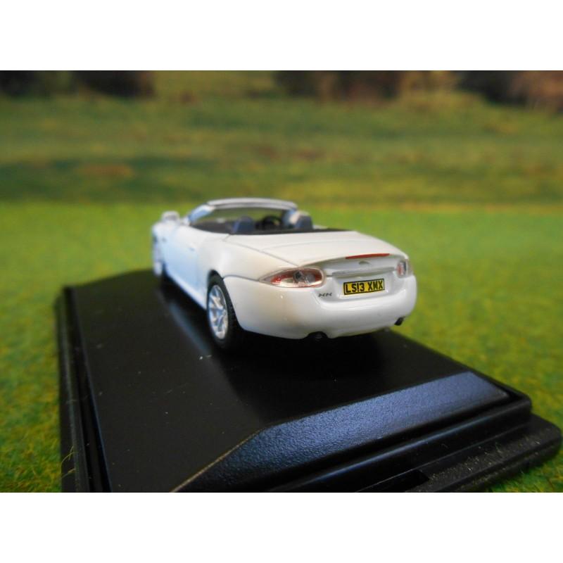 Jaguar Xk Convertible: OXFORD 1:76 JAGUAR XK CONVERTIBLE IN WHITE