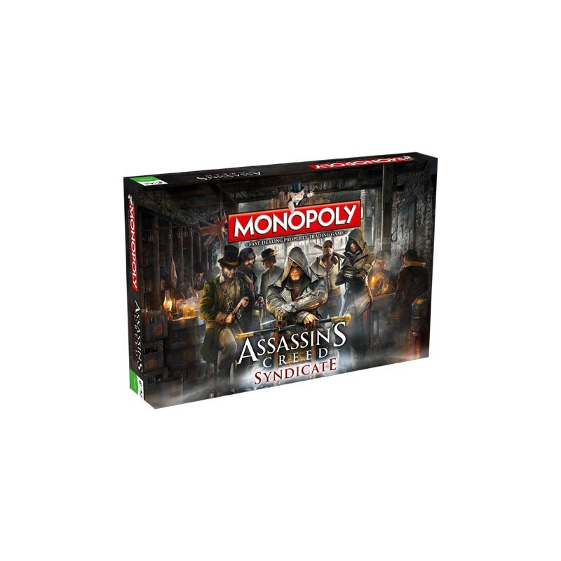 MONOPOLY - ASSASSINS CREED SYNDICATE EDITION BOARD GAME ...