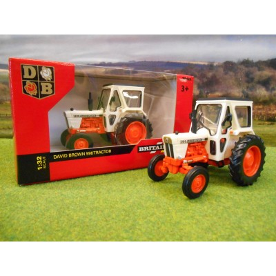 BRITAINS 1:32 CLASSIC DAVID BROWN 996 2WD TRACTOR
