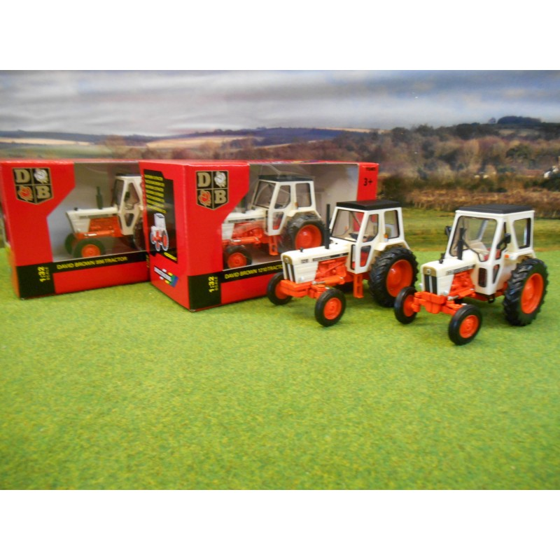 SPECIAL PURCHASE: BRITAINS 1:32 CLASSIC DAVID BROWN 996 2WD & 1210 2WD TRACTORS