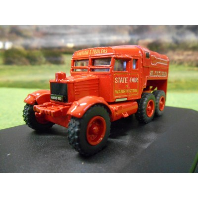 OXFORD 1:76 SCAMMELL PIONEER SILCOCK BROS FUNFAIR