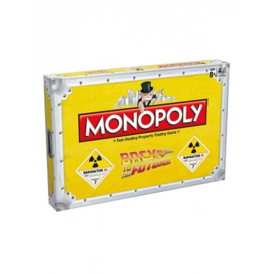 MONOPOLY - BACK TO THE FUTURE BOARD GAME