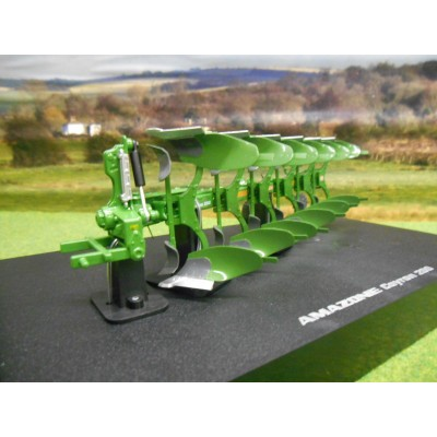 UNIVERSAL HOBBIES 1:32 AMAZONE CAYRON 200 6 FURROW REVERSIBLE PLOUGH