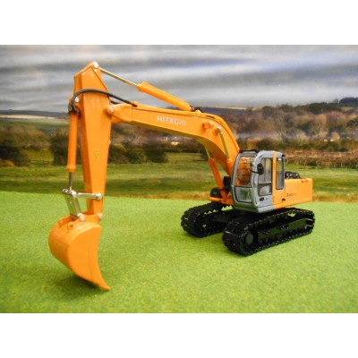 ROS DIECAST HITACHI ZAXIS 210 EXCAVATOR ON METAL TRACKS 1/32