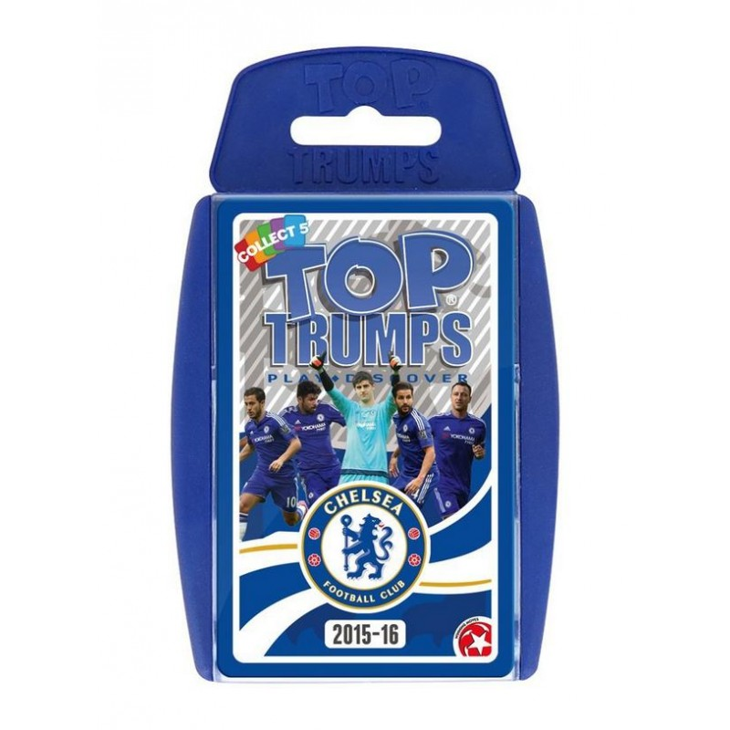 Top trumps chelsea fc 2015 16 card game one32 farm for Best cards for 2015