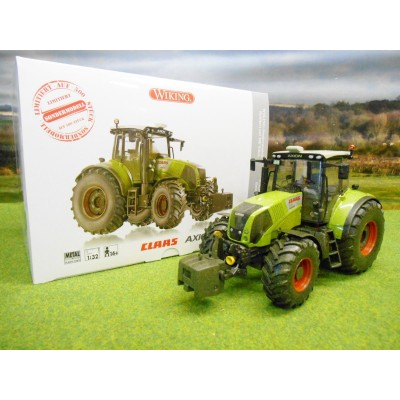 WIKING 1:32 LIMITED EDITION MUDDY CLAAS AXION 850 TRACTOR