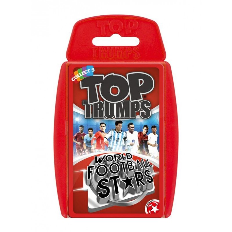 TOP TRUMPS - WORLD FOOTBALL STARS 2016/17 CARD GAME