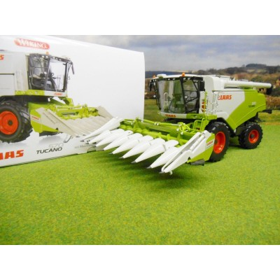 WIKING 1:32 CLAAS 570 TUCANO COMBINE HARVESTER CORNSPEED HEADER