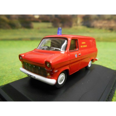 OXFORD 1:76 LONDON FIRE BRIGADE FORD TRANSIT MARK 1 VAN