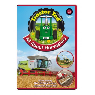TRACTOR TED: ALL ABOUT HARVESTERS DVD
