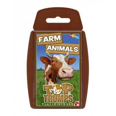 TOP TRUMPS - FARM ANIMALS CARD GAME