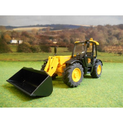 JOAL 1:35 DIECAST JCB 531-70 LOADALL WITH BUCKET