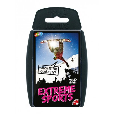 TOP TRUMPS - EXTREME SPORTS CARD GAME