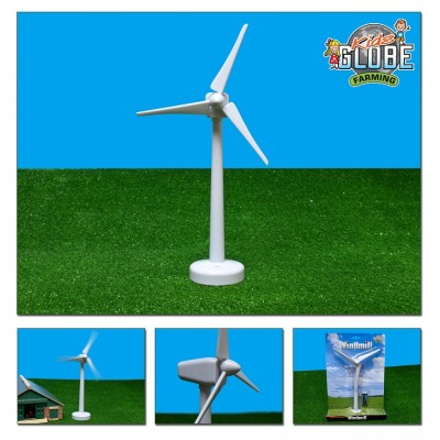 KIDS GLOBE 1:32 30CM WIND TURBINE MODEL WITH BATTERIES