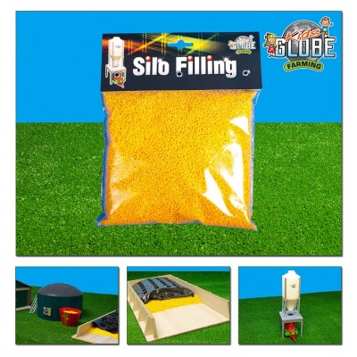KIDS GLOBE 1:32 BAG OF MAIZE FOR SILAGE CLAMP 500G