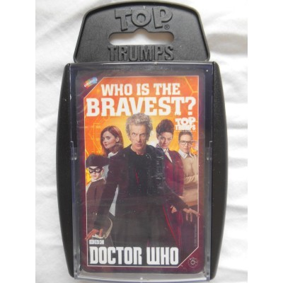 TOP TRUMPS - BBC DOCTOR WHO 2016 'WHO'S THE BRAVEST?' CARD GAME