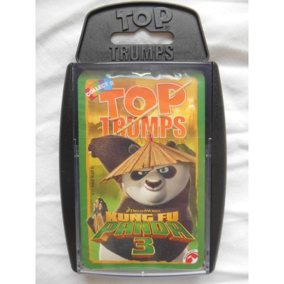 TOP TRUMPS - DREAMWORKS KUNG FU PANDA 3 CARD GAME