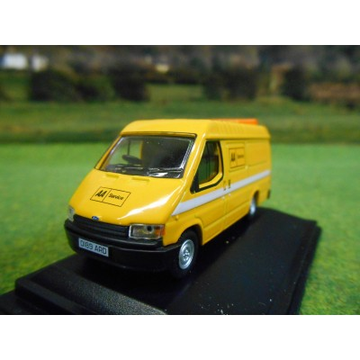 OXFORD 1:76 AA RECOVERY SERVICE FORD TRANSIT MARK 3 LWB VAN