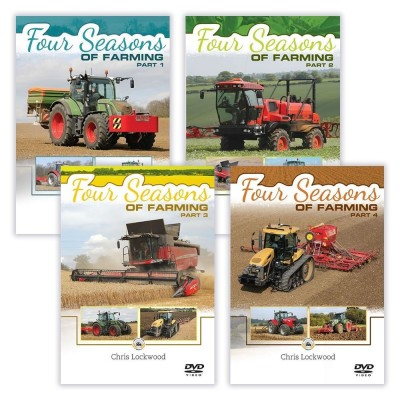 FOUR SEASONS OF FARMING 4 DVD SET (6HR 30 MINS) - CHRIS LOCKWOOD