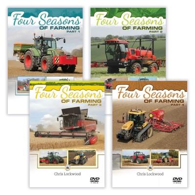 FOUR SEASONS OF FARMING 4 DVD SET (6HR 30 MINS) - CHRIS LOCKWOOD