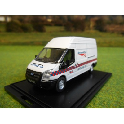 OXFORD 1:76 NETWORK RAIL RESPONSE UNIT LWB MK7 TRANSIT VAN