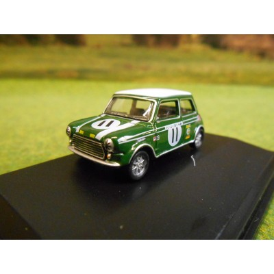 OXFORD 1:76 MINI COOPER MK11 JOHN RHODES BRANDS HATCH 1968