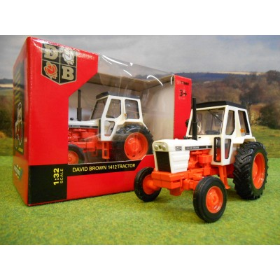 BRITAINS 1:32 CLASSIC DAVID BROWN 1412 2WD TRACTOR