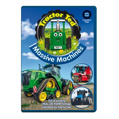 TRACTOR TED: MASSIVE MACHINES DVD