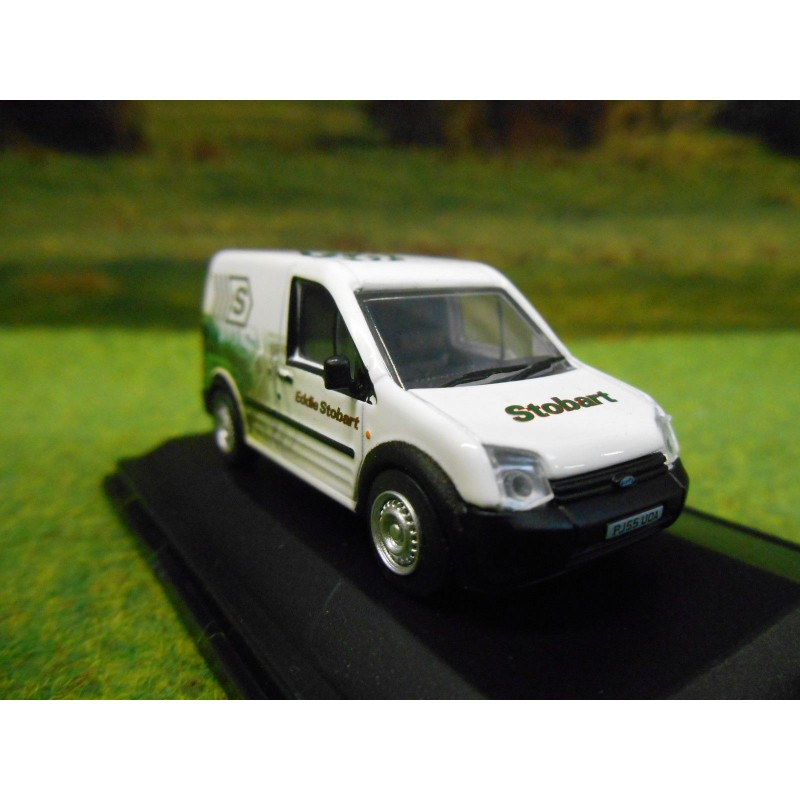 New Ford Transit Connect Vans For Sale: OXFORD 1:76 FORD TRANSIT CONNECT VAN EDDIE STOBART