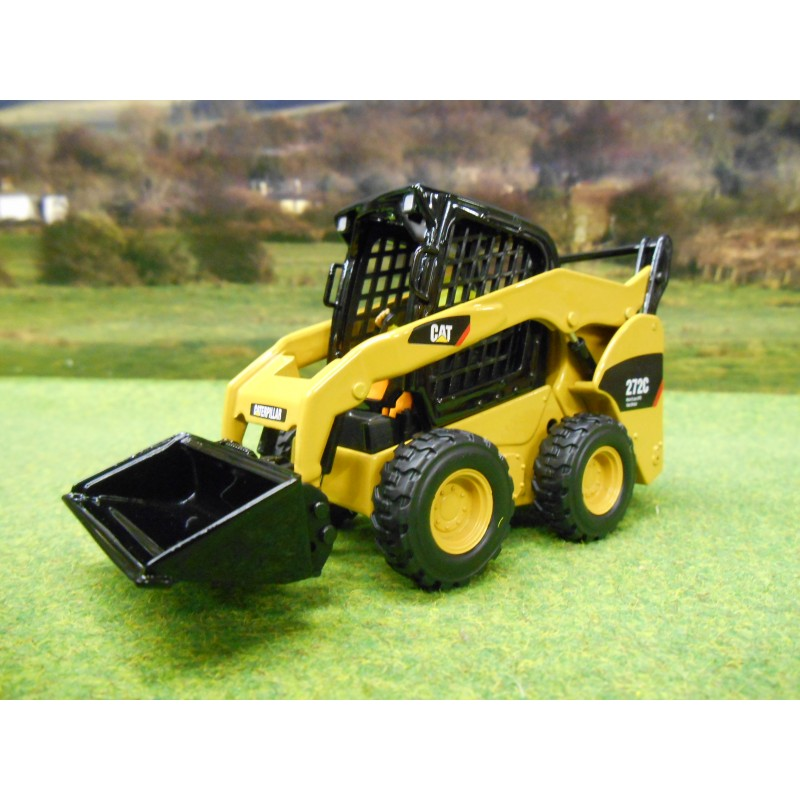 CATERPILLAR 1/32 299C COMPACT SKIDSTEER TRACKED LOADER