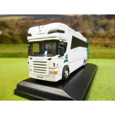 OXFORD 1:76 AW JENKINSON SCANIA TOPLINE OAKLEY HORSEBOX