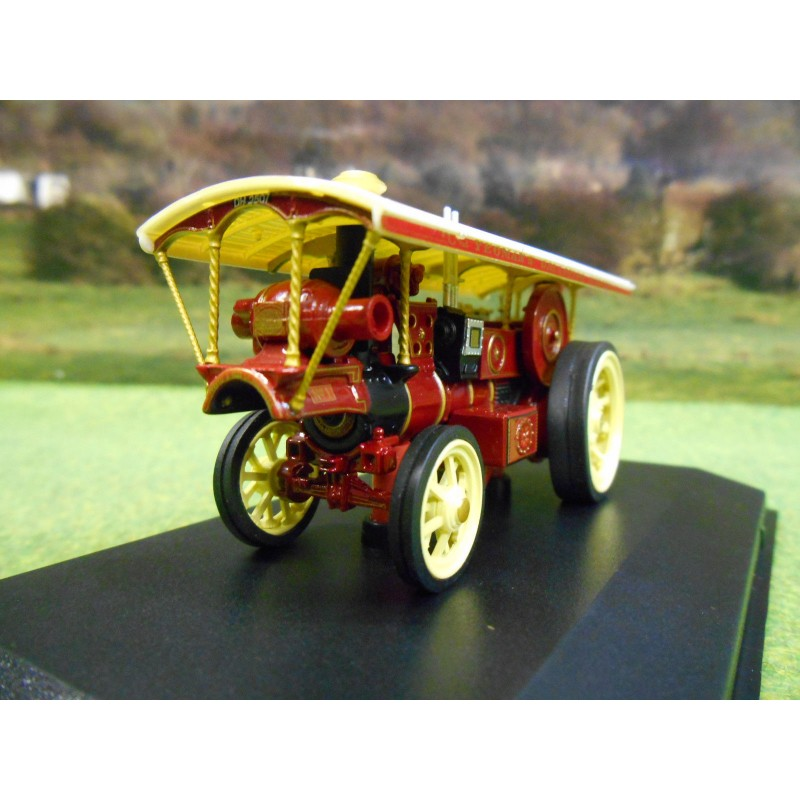 OXFORD 1:76 BURRELL STEAM SHOWMANS LOCO NO1 YEOMANS GALLOPING HORSES