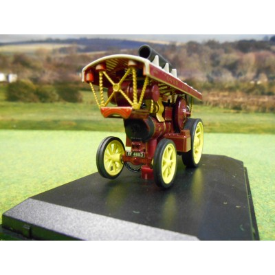 OXFORD 1:76 FOWLER B6 SHOWMANS STEAM ENGINE KING CARNIVAL