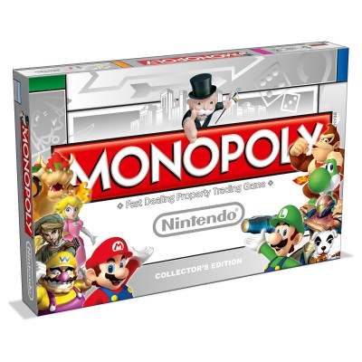 MONOPOLY - NINTENDO CHARACTERS (MARIO, LINK, DONKEY KONG) COLLECTORS EDITION BOARD GAME