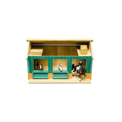 KIDS GLOBE 1:24 SMALL HORSE STABLE FOR SCHLEICH & BULLYLAND